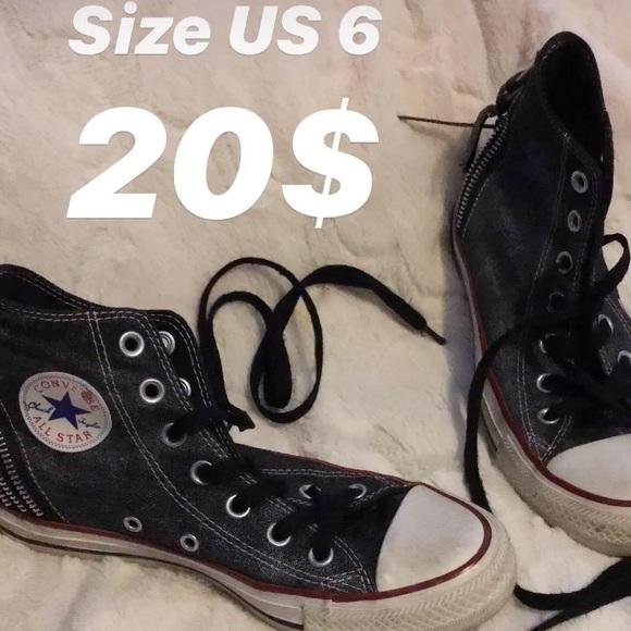 Converse Shoes - Zipper converse